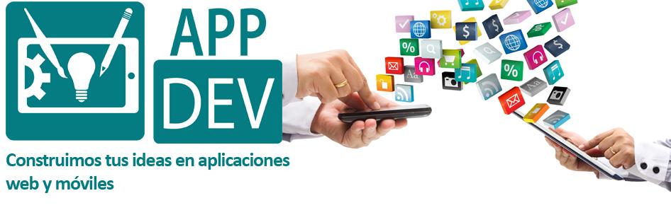 APP DEV - Desarrollo de aplicaciones web y móviles