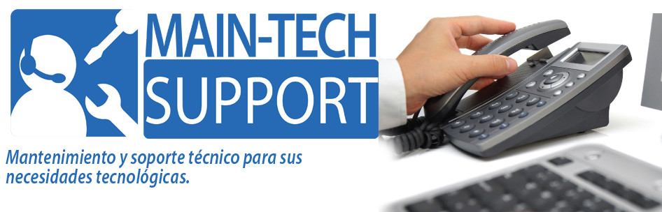 MAIN-TECH SUPPORT  Soporte técnico